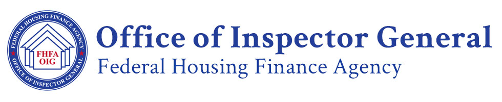 FHFA Office of Inspector General Home